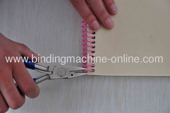 A4 Size Office Use Coil Binding Machine
