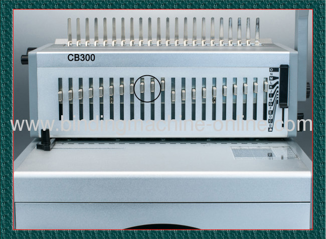 Manual Plastic Ring Binding Machine