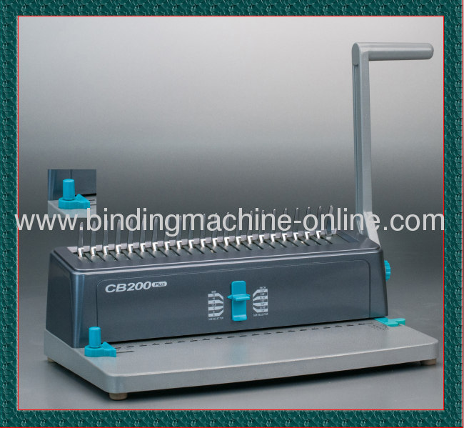 A4 Paper Size Light weight Comb Binding Machine