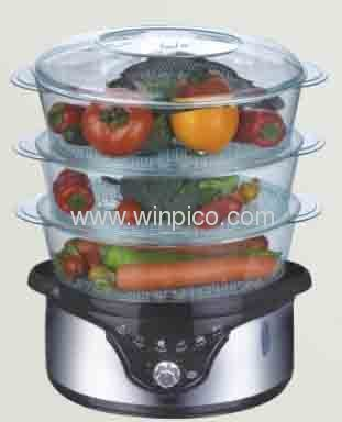 Large Capacity Electrical stainless steelHealthy Food Steamer for home use