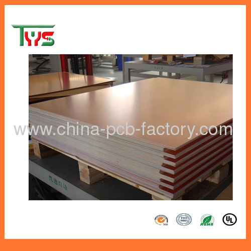 round double-sided pcb board