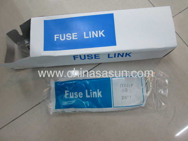 Expulsion fuse link for fuse cutout