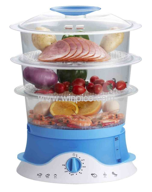 9L Capacity Electrical Healthy Food Steamer for home use