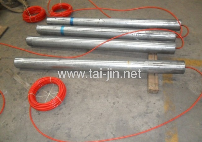Cathodic protection MMO Titanium tubular fill with petroleum coke anode