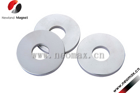 Ring shape permanent magnet