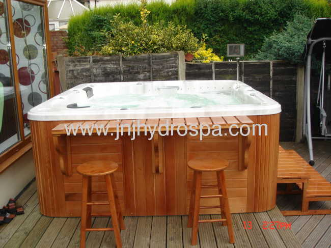 outdoor massage hot tubs