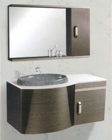 Wall Mounted Modern Stainless Steel Bathroom Cabinet