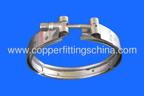 V Band Heavy Duty Stainless Steel Hose Clamp