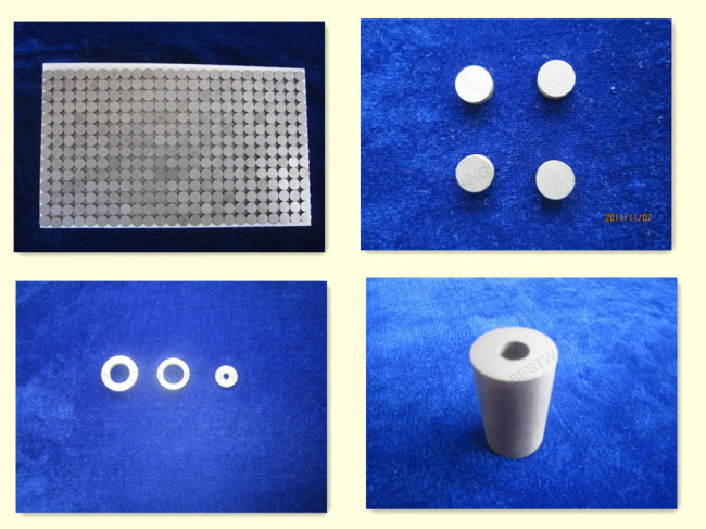 Permanent Strong Magnet Sintered SmCo Magnet Ring