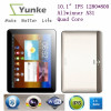 10.1 inch 16GB Quad Core Dual Camara 1280*800 Cortex-A7 A31S tablet pc 10.1""
