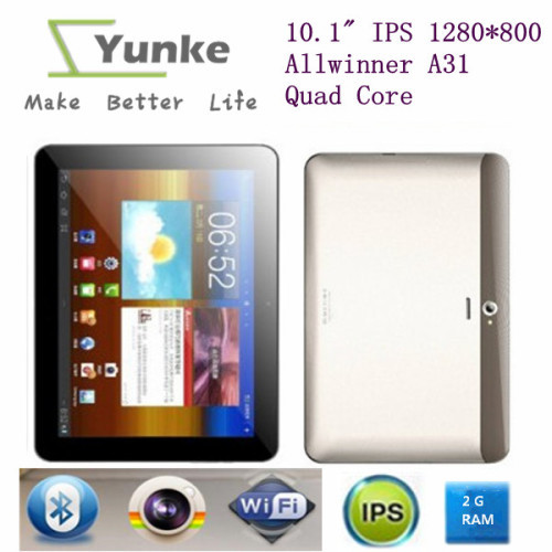 10.1 inch 16GB Quad Core Dual Camara 1280*800 Cortex-A7 A31S tablet pc 10.1