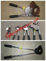ratchet cable scissors,Cable cutter,wire cutter,Cable cutter with ratchet system