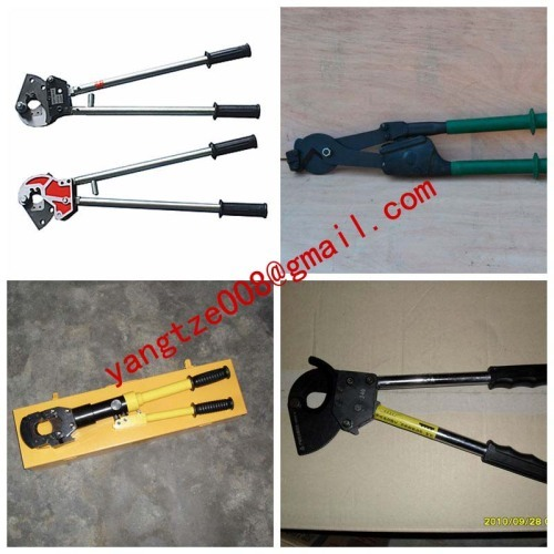 wire cutter,Cable cutter,Cable cutter with ratchet system,Cable-cutting tools