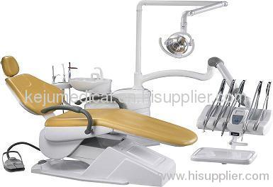 Promotional CE approved dental chair unit with top-mounted tool tray