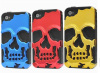 skull face phone case pc+silicon for 22 models factory direct