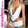 Wholesale Sexy White Two Pcs Babydoll Sets
