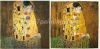 High quality Klimt oil painting reproduction,The kiss