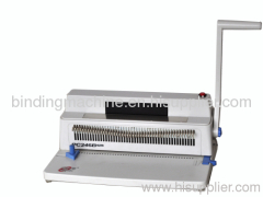 A4 Paper Office Use Coil Binding Machine