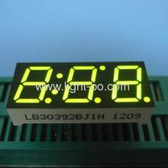 "Super Bright Green Triple-Digit 0.39"" 7 Segment LED Display"