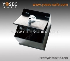 Hidden floor safe box