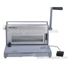 28 Sheet Punch Heavy Duty Electric Wire Binding Machine