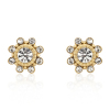 Wholesale fashion crystal diamond stud earring