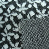 Jacquard interlock fabric blended of wool and polyester