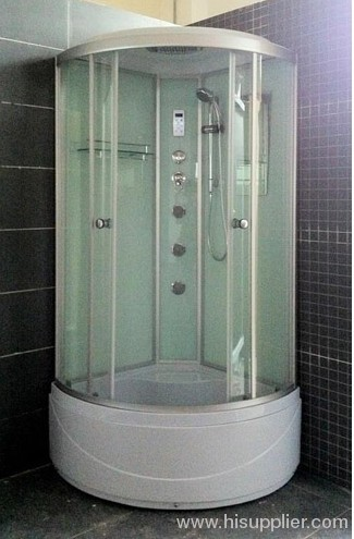 Three body jets with shower room