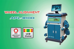 Four wheel alignment machine