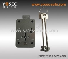 7 security lever Mechanical Safe key lock china manufacture