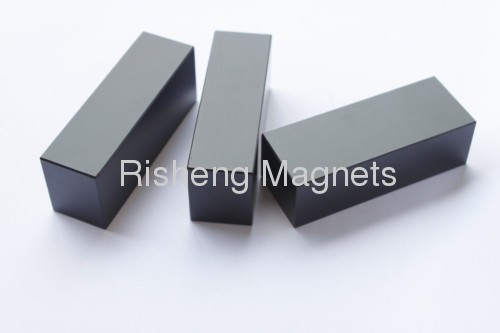 magnet grade N52 small Block Neodymium Magnets 7 x 6 x 1.2mm Permanent NdFeB Rare Earth Magnete with Black Epoxy Coating