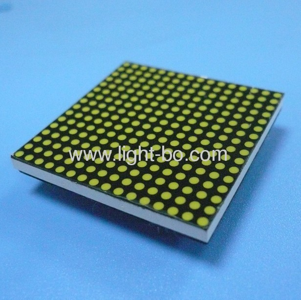 1.9mm 16 x 16 dot matrix led display with package dimensions 40 x 40 x 3.5mm,widely used for message boards/moving Signs