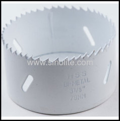 White Bi-metal hole saws