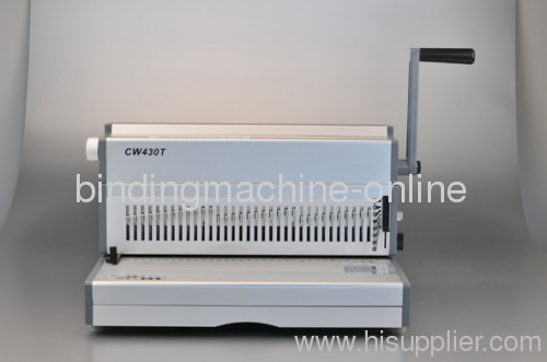 2:1 Manual Wire-o Binding Machine