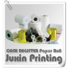 2 1/4'' x 50' Thermal Paper (100 rolls / case) 7/16' core