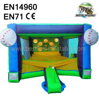 Inflatable Baseball Challenge Game