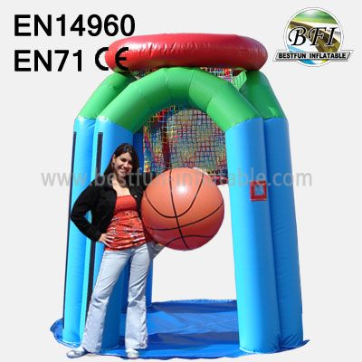 Inflatable Basketball Hitting Hoop