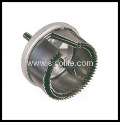 Product: Exchangable hole saw set 3pcs Sizes: 60-67-74mm, center drill 8mm