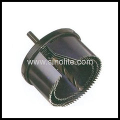 Product: Exchangable hole saw set 3pcs Sizes: 60-73-80mm, height: 45mm center drill 8mm