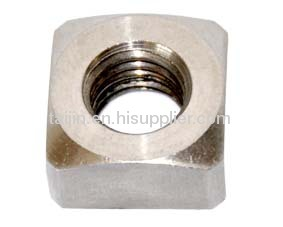 titanium alloy fastener and nut