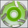 Diamond cup grinding wheel special design