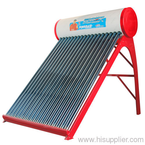 nonpressure solar water heater ,solar energy water system, vacuum tube solar collector