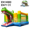 Inflatable Alligator Slide And Bouncer