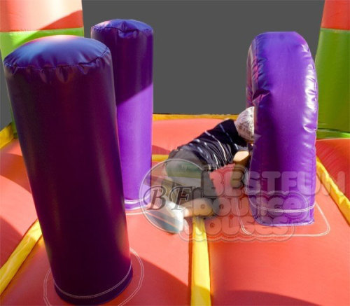Inflatable Jungle Castle For Sale