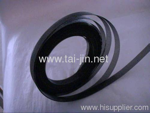 Manufacture of MMO Mesh Ribbon Anodes