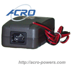 Lead-Acid Battery Charger, 60W, Single Output, 3-stage Control