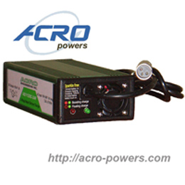 Lead-Acid Battery Charger, 300W, Single Output, 3-stage Control