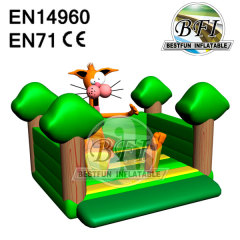 Best Design Bouncer Inflatable Animals Castle