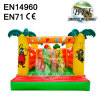 Bee And Animal Inflatable Bouncy Castle House