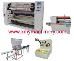 automatic bopp adhesive tape slitting machine